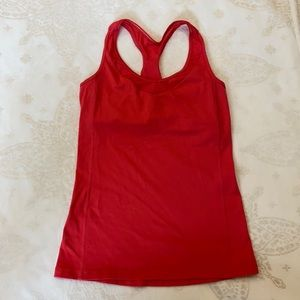 Lululemon Pink Punch Tank Top, Size 6